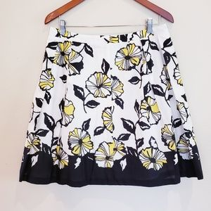 INC Pleated Full Skirt Lined Womens Size 12